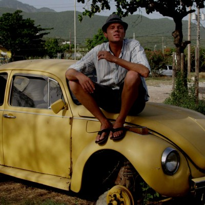 sam jamaica on vw car